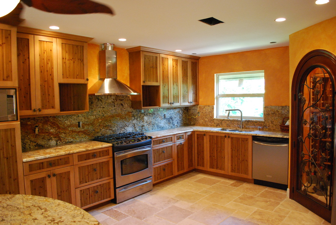 Tropical kitchen cabinets testimonials kitchen bathroom remodeling fort myers tropical - Tropical kitchen design ...